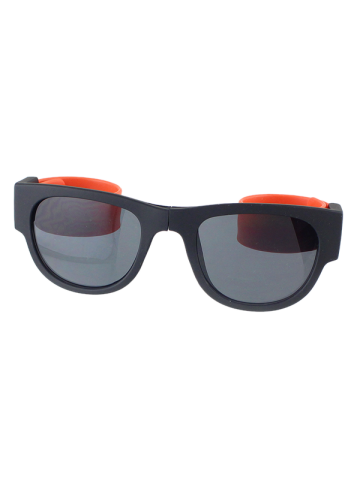 Online Anti UV Flexible Leg Wristband Folded Sunglasses with Box - ORANGE  Mobile
