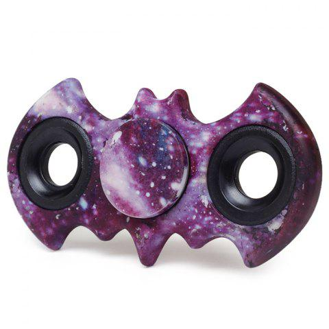 Stress Relief Fiddle Toy Bat Patterned Fidget Spinner - Starry Sky Pattern - 12