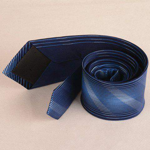 Buy Diagonal Straight Stripe Mulberry Silk Tie - CADETBLUE  Mobile