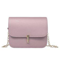 Push Lock Chain Cross Body Bag -