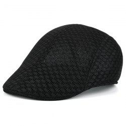 Summer Hollow Out Mesh Newsboy Hat