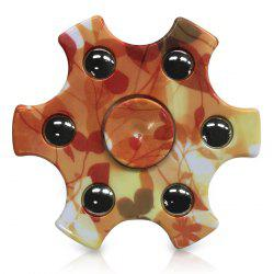 Focus Toy Snowflake Shape Ball Bearing Hand Spinner