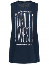 Drift West Graphic Print Tank Top