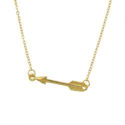Love Cupid Arrow Alloy Pendant Necklace