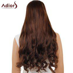 Adiors Long Center Part Wavy Dyed Perm 180% Lace Front Synthetic Wig