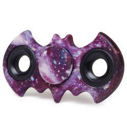 Stress Relief Fiddle Toy Bat Patterned Fidget Spinner - STARRY SKY PATTERN