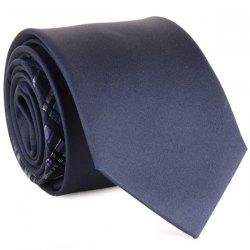 Mulberry Silk Striped Tie - CADETBLUE