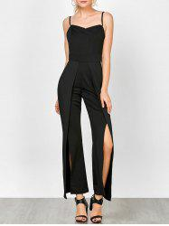 Cami High Slit Jumpsuit