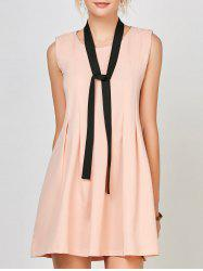Mini Pleated Dress with belt