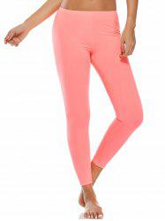 High Waist Ankle Length Compression Leggings