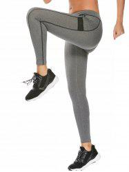 High Waisted Contrast Ankle Fitness Leggings