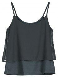 Double Layered Cami Top
