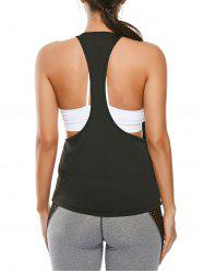 Racerback Work Out Layering Tank Top