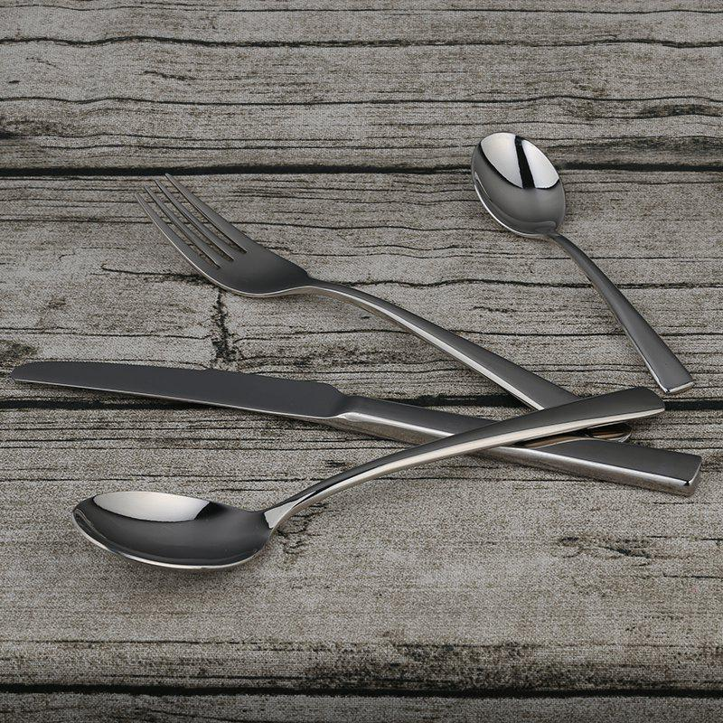 Outfits Table Spoon Knife Fork Teaspoon Stainless Steel Flatware