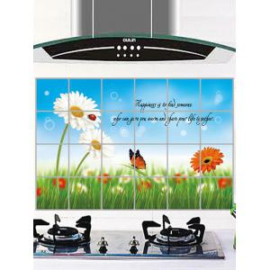 Flower Kitchen Removable Art Wall Sticker