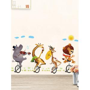 Kids Room Animal Cartoon Wall Art Sticker