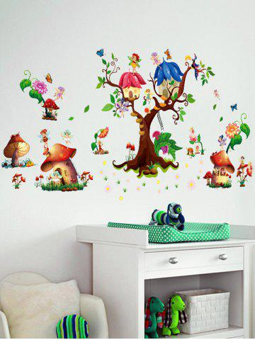 Online Cartoon Elf Removable Nursery Wall Sticker - 60*90CM COLORMIX Mobile