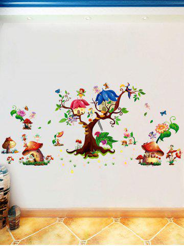 Shops Cartoon Elf Removable Nursery Wall Sticker - 60*90CM COLORMIX Mobile