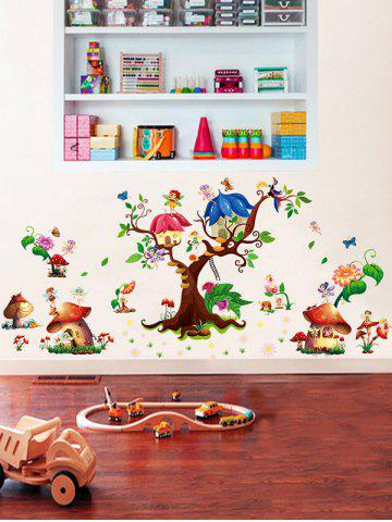 Outfit Cartoon Elf Removable Nursery Wall Sticker - 60*90CM COLORMIX Mobile
