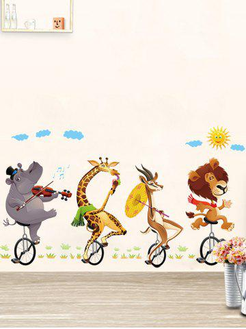 Shops Kids Room Animal Cartoon Wall Art Sticker - 60*90CM COLORMIX Mobile