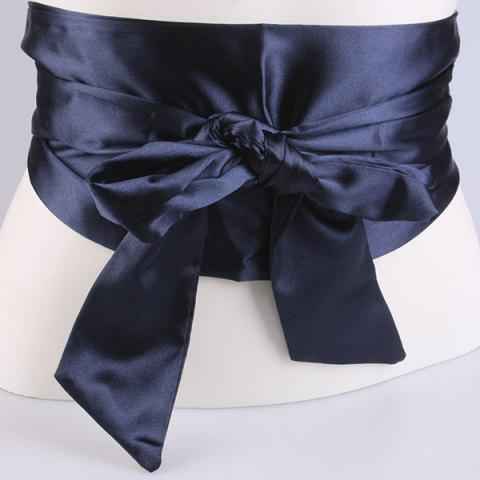 Shops Wide Imitation Silk Ribbon Corset Belt