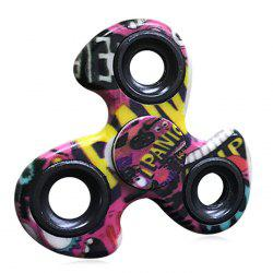 Fiddle Toy EDC Stress Reliver Patterned Fidget Spinner -
