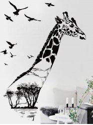 Giraffe Animal Vinyl Removable Wall Sticker