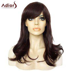 Adiors Side Bang Long Lightly Curly Synthetic Wig