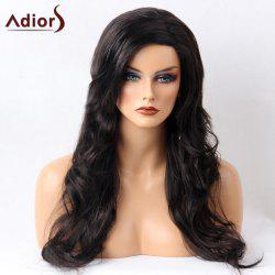 Adiors Long Side Parting Shaggy Layered Wavy Synthetic Wig