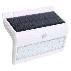 Human Body Induction Solar Powered LED Wall Lamp