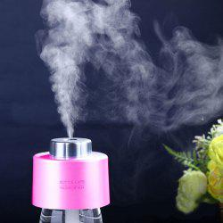 Mist Maker USB Portable Water Bottle Cap Mini Humidifier - PINK