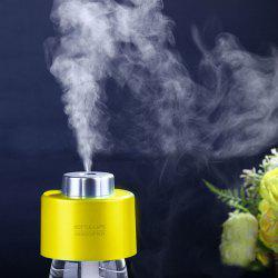 Mist Maker USB Portable Water Bottle Cap Mini Humidifier - YELLOW