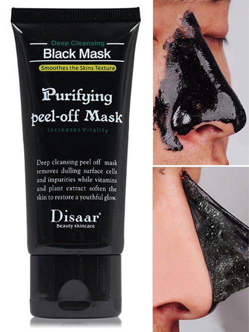 Blackhead Remover Peeling Peel Off MaskBEAUTY<br><br>Color: BLACK; Gender: For Unisex; Item Type: T Zone Care; Feature: Acne Treatment,Oil-control; Use: Face; Product weight: 0.1000 kg; Package weight: 0.1000 kg; Product size (L x W x H): 1.00 x 1.00 x 1.00 cm / 0.39 x 0.39 x 0.39 inches; Package size (L x W x H): 1.00 x 1.00 x 1.00 cm / 0.39 x 0.39 x 0.39 inches; Package Content: 1 x Mask;