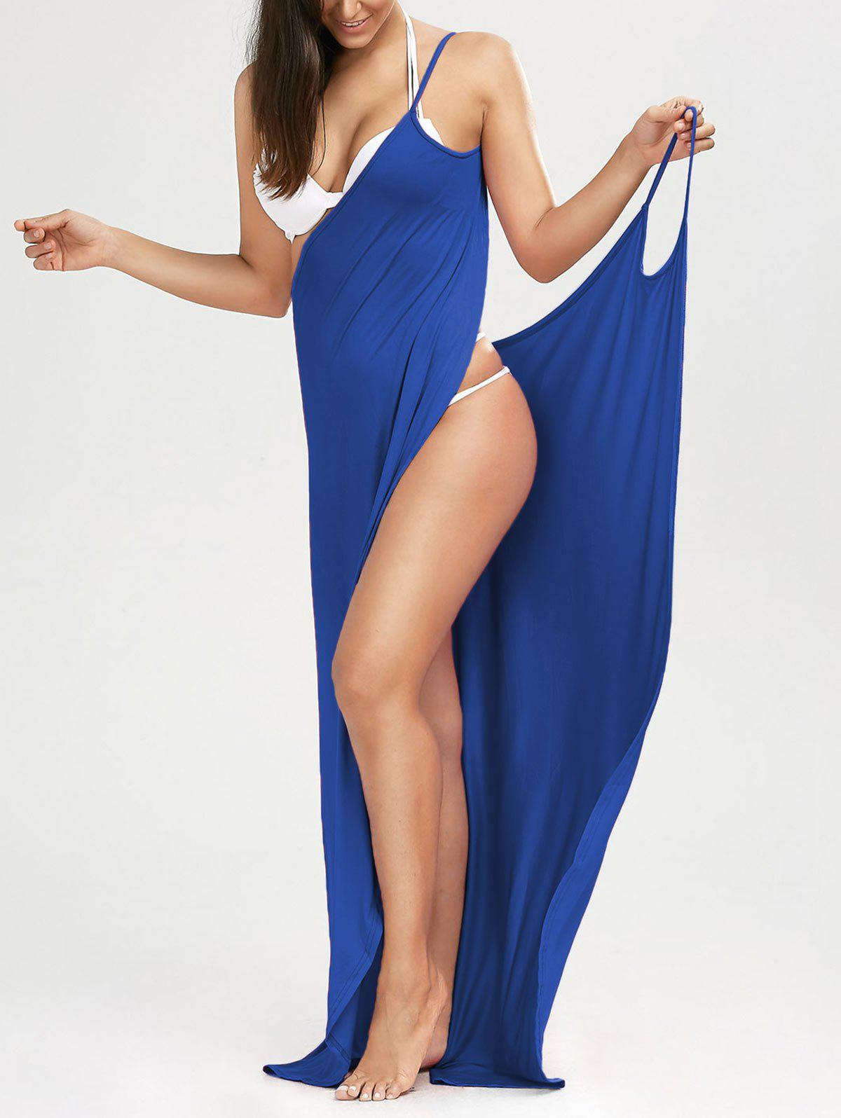 Store Beach Maxi Wrap Cover Up Long Slip Dress