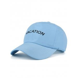 Letters Embroidered Waterproof Baseball Hat