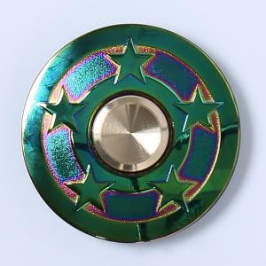 Focus Toy Colorful Star UFO EDC Fidget Metal Spinner - COLORMIX
