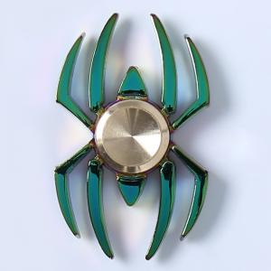 Stress Reliver Toy Colorful Spider Fidget Metal Spinner -