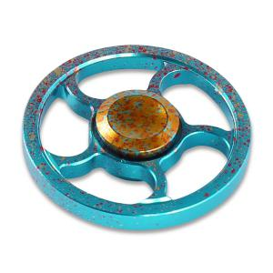 Camouflage Wheel Metal Fidget Spinner For Adults and Kids -
