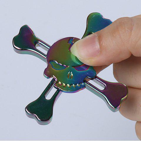 Discount Skull Finger Gyro Stress Relief Toy Pirates Alloy Fidget Spinner - COLORMIX  Mobile