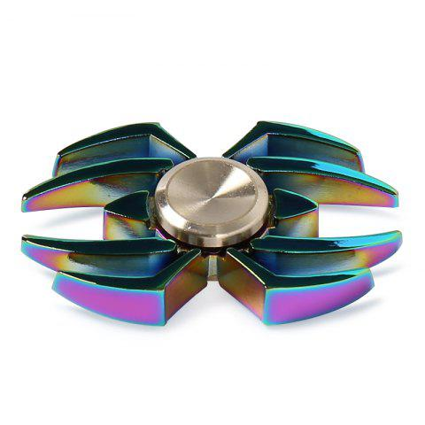 Fashion Stress Reliver Toy Colorful Spider Fidget Metal Spinner