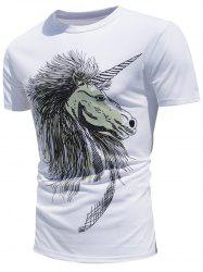 Horse Print Color Changing T-Shirt