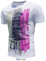 Castle Printed Color Changing T-Shirt