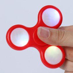 Tri-Spinning Plastic LED Light Fidget Finger Spinner