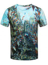 3D Print French Style Short Sleeve T-Shirt