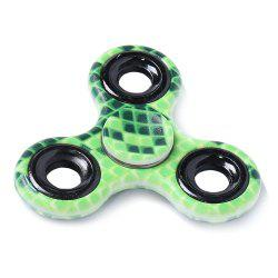 Stress Relief Toy Plastic Fidget Spinner Printed Finger Gyro