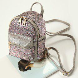 Glitter Sequin Mini Backpack