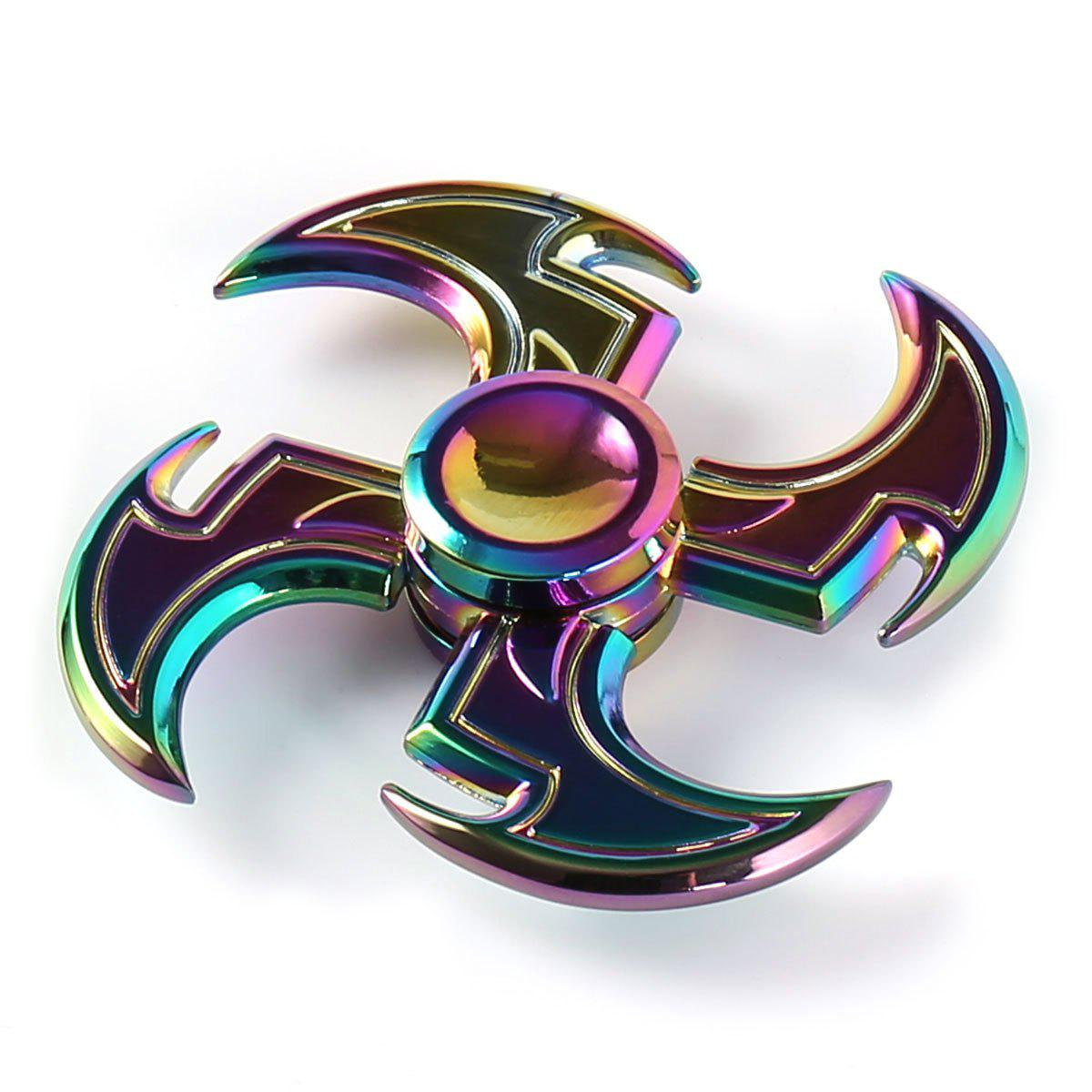 29 Off 2018 Axe Shape Rainbow Fidget Toy Hand Spinner