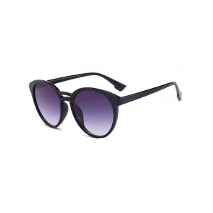 Retro Double Crossbar Anti UV Sunglasses