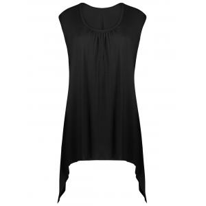 Asymmetrical Longline Tank Top