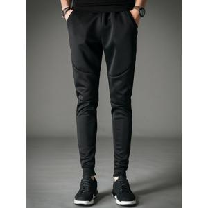 Drawstring Pocket Jogger Pants